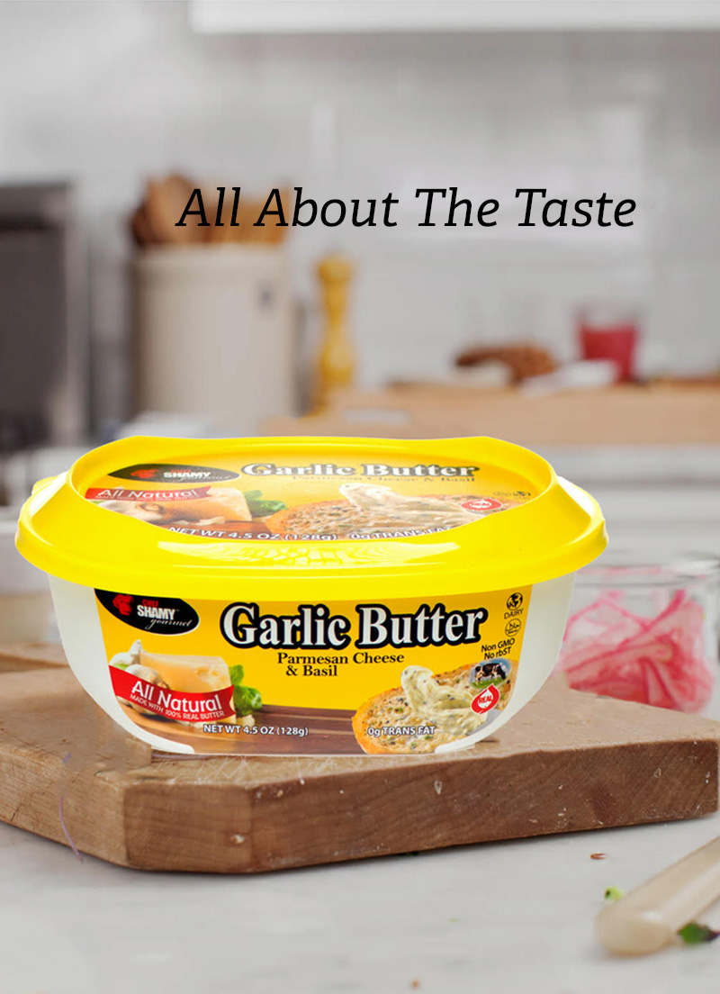 Flavored butters can liven up any recipe.