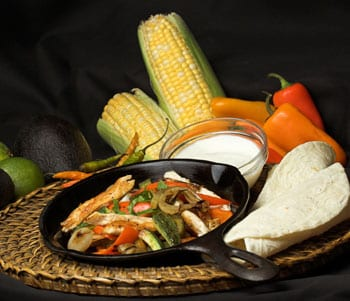 Try Baja fajitas for your next family meal.