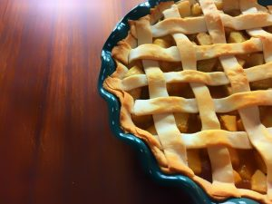 Chef Shamy Cinnamon Butter Lattice Apple Pie