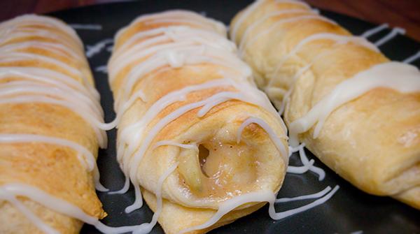Chef Shamy Honey Butter Apple Pie Rollups