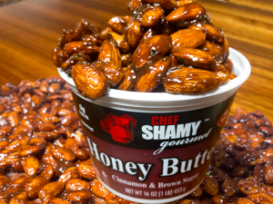 Have a taste of the holidays with some slow cooker candied cinnamon almonds.