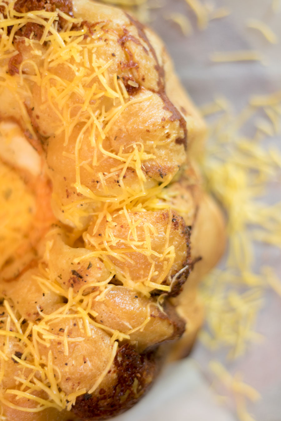 Cheesy Garlic Bread Pull a parts Recipe