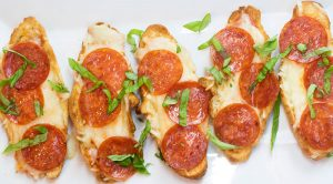 Add some excitement to your fries by combining them with another favorite--pizza!