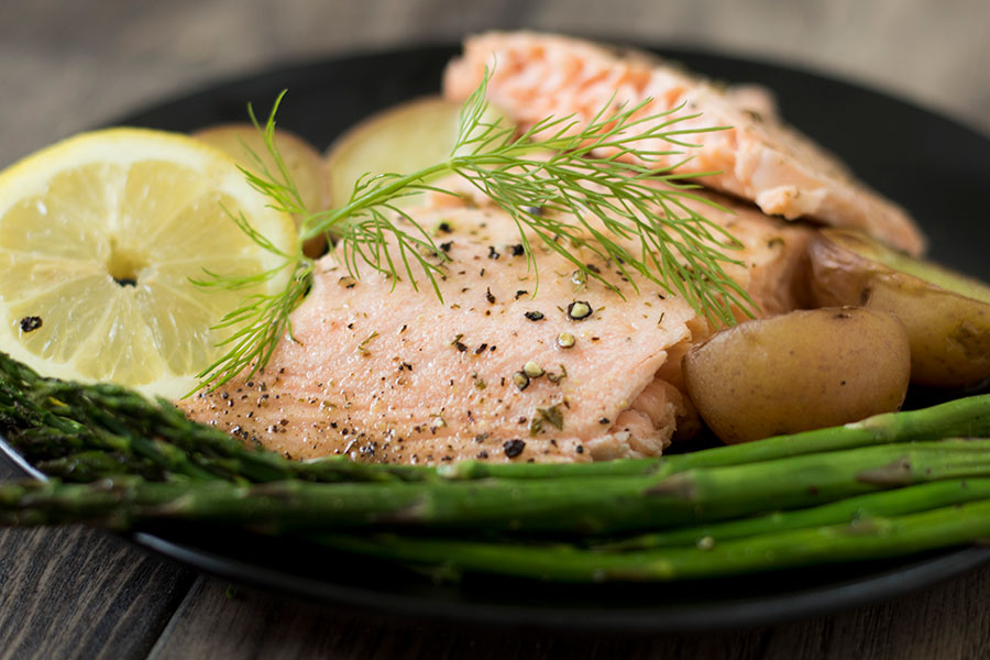 Create a quick, easy dinner tonight by topping your salmon with lemon dill saute butter.