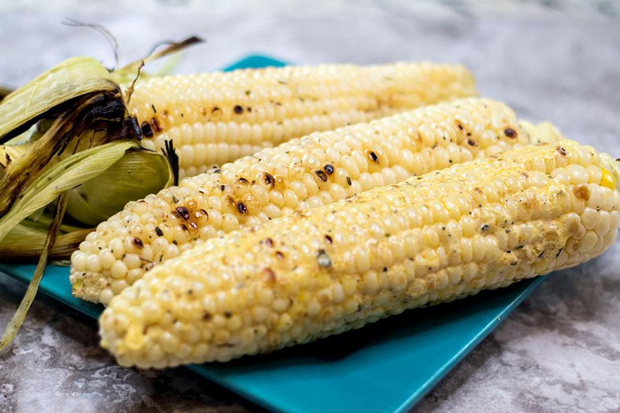 Grilled Corn Recipe 3 ways