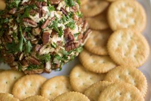 Easy to Make Pecan Cheese Ball