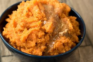 Cinnamon Mashed Sweet Potatoes