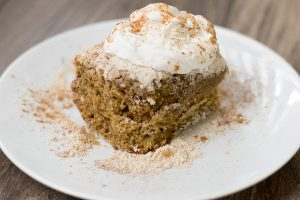 Spruce up your streusel by adding Chef Shamy's cinnamon brown sugar honey butter.