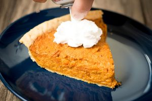 Cinnamon Honey Sweet Potato Pie