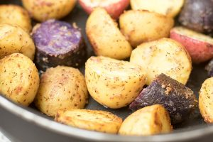 Lemon Dill Skillet Potatoes