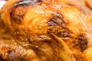 Garlic Herb Butter Roasted Turkey