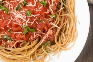 Homemade Garlic Marinara Sauce