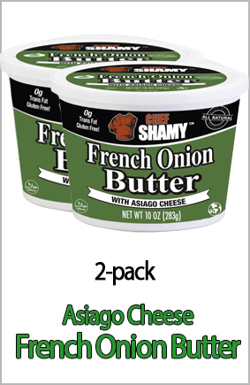Asiago Cheese French Onion Butter