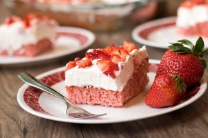 Give your sweet tooth a fresh twist with this Strawberries and Cream Cake.