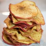honey butter apple chips stacks
