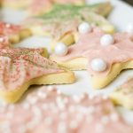 strawberry buttercream icing sugar cookies