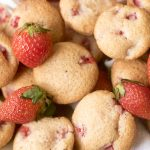 strawberry mini muffins