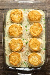 Biscuit Chicken Pot Pie
