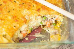 Easy Cheese Shepherd's Pie