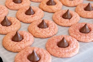 Strawberry Blossom Cookies