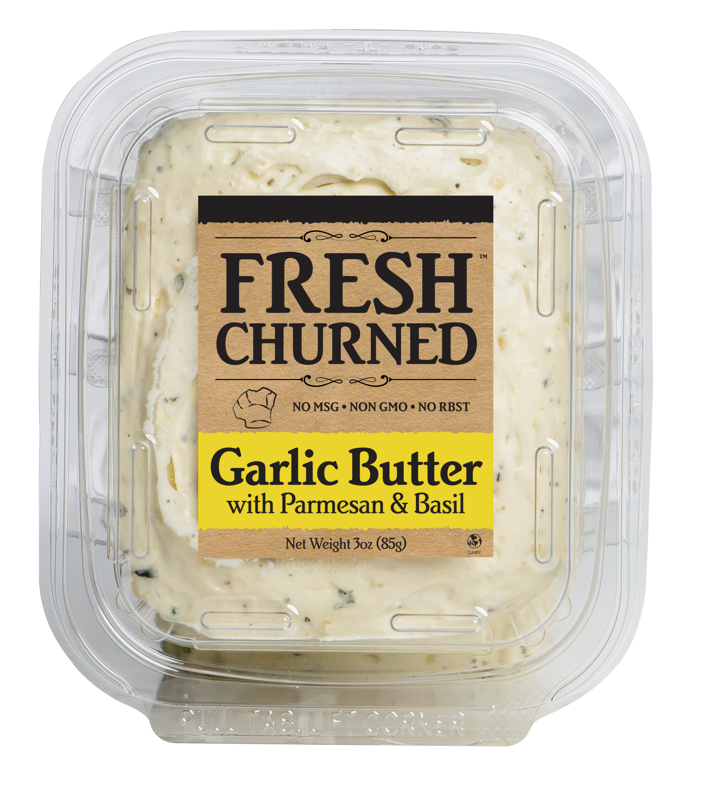 Fresh Churned Garlic Butter