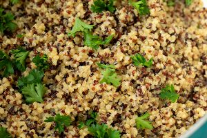Garlic Butter Quinoa