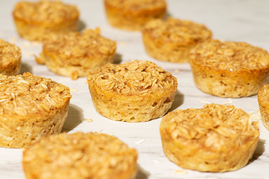 Healthy Baked Oatmeal Cups