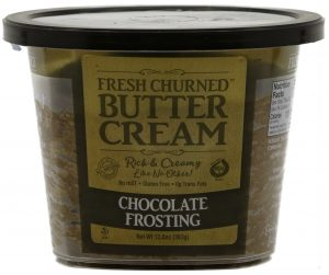Chocolate Frosting Fresh Churned Butter Cream